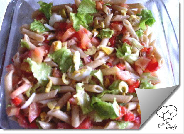Enslada con pasta integral for Ensalada de pasta integral